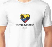 Ecuador Soccer Unisex T-Shirt