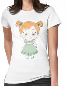 Toddler Anna Womens Fitted T-Shirt
