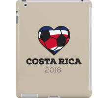 Costa Rica Soccer  iPad Case/Skin