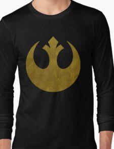 Rebel Alliance Golden Symbol Long Sleeve T-Shirt