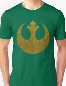 Rebel Alliance Golden Symbol Unisex T-Shirt