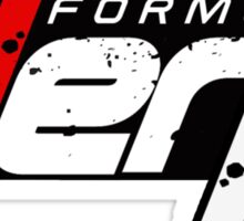 FORMULA DERP- Drifting or Drag racing? Sticker