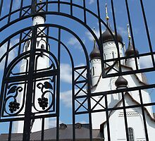 church fence by mrivserg