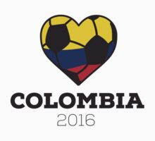 Colombia Soccer One Piece - Short Sleeve
