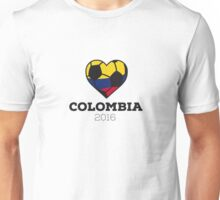 Colombia Soccer Unisex T-Shirt
