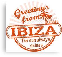 Ibiza Canvas Print