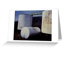Tanks - America Greeting Card