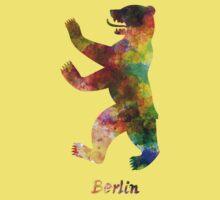 Berlin Symbol in watercolor Kids Tee