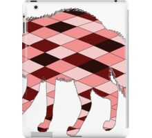 Geometric Fox iPad Case/Skin
