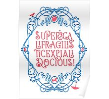 Whimsical Poppins! Poster