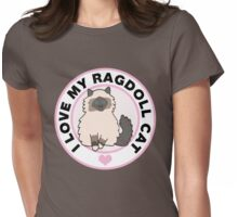 Ragdoll Cat Lover T-Shirts Womens Fitted T-Shirt