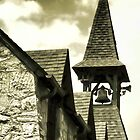 Chadds Ford Church Steeple by Polly Peacock