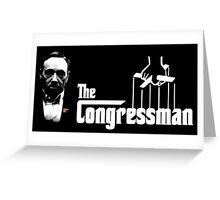 The Congressman Greeting Card