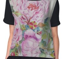 More roses Women's Chiffon Top