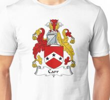Carr Coat of Arms / Carr Family Crest Unisex T-Shirt