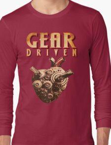 Gear Driven (No Background) Long Sleeve T-Shirt