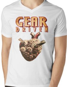 Gear Driven (No Background) Mens V-Neck T-Shirt