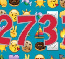 Camp Emojis 12737 Sticker