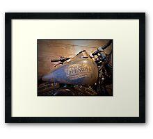 Tombstone Harley Framed Print