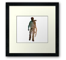 Uncharted - Nathan Framed Print