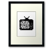 CRT TV Framed Print