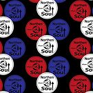 Retro Northern soul record labels by Auslandesign