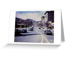 Downtown - America Greeting Card