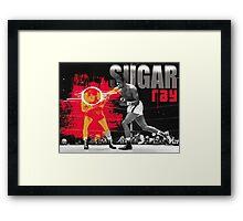 sugar ray robinson 2 Framed Print