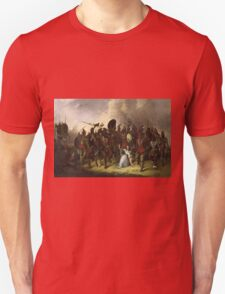 John Mix Stanley - Osage Scalp Dance. People portrait: party, woman and man, people, family, female and male, peasants, crowd, romance, women and men, city, home society Unisex T-Shirt