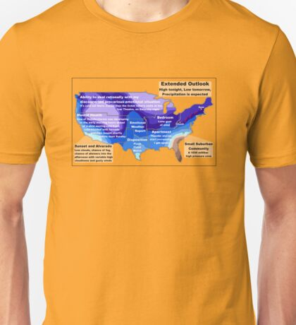 Emotional Weather Report Unisex T-Shirt