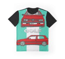 VW Gold Mk 3 (5 of 5) Graphic T-Shirt