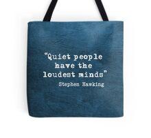 Quiet People Tote Bag