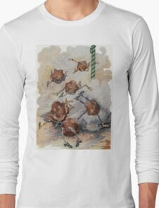 John R. Neill - Personified Muffins Tumbling Out Of Steam. Child portrait: cute baby, kid, children, pretty angel, child, kids, lovely family, boys and girls, boy and girl, mom mammy mam, childhood Long Sleeve T-Shirt