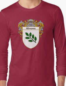 Almonte Coat of Arms/Family Crest Long Sleeve T-Shirt