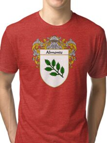 Almonte Coat of Arms/Family Crest Tri-blend T-Shirt