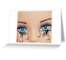 Tears! Greeting Card