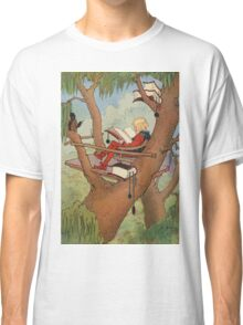 John R. Neill - Prince Inga In His  Tree-Top  Rest. Man portrait: strong man, boy, male, beard, business suite, masculine, boyfriend, smile, manly, sexy men, mustache Classic T-Shirt