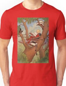 John R. Neill - Prince Inga In His  Tree-Top  Rest. Man portrait: strong man, boy, male, beard, business suite, masculine, boyfriend, smile, manly, sexy men, mustache Unisex T-Shirt