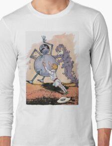 John R. Neill - Putting Tik Tok Back On His Feet.. Child portrait: cute baby, kid, children, pretty angel, child, kids, lovely family, boys and girls, boy and girl, mom mum mammy mam, childhood Long Sleeve T-Shirt