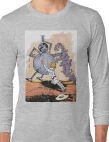 John R. Neill - Putting Tik Tok Back On His Feet.. Child portrait: cute baby, kid, children, pretty angel, child, kids, lovely family, boys and girls, boy and girl, mom mum mammy mam, childhood Long Sleeve T-Shirt