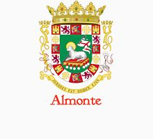 Almonte Shield of Puerto Rico Unisex T-Shirt
