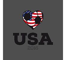 USA Soccer Photographic Print