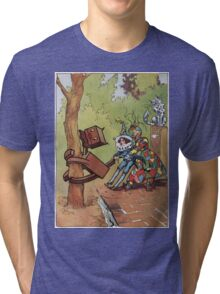 John R. Neill - The Patchwork Girl Helps The Boy. Child portrait: cute baby, kid, children, pretty angel, child, kids, lovely family, boys and girls, boy and girl, mom mum mammy mam, childhood Tri-blend T-Shirt