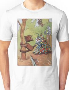 John R. Neill - The Patchwork Girl Helps The Boy. Child portrait: cute baby, kid, children, pretty angel, child, kids, lovely family, boys and girls, boy and girl, mom mum mammy mam, childhood Unisex T-Shirt