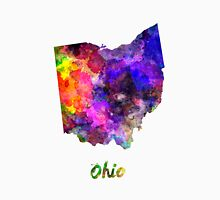Ohio US state in watercolor Unisex T-Shirt