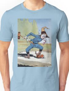 John R. Neill - The Scarecrow Swinging A Croquet Mallet. Child portrait: cute baby, kid, children, pretty angel, child, kids, lovely family, boys and girls, boy and girl, mom mum mammy mam, childhood Unisex T-Shirt