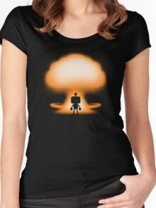 THE BOMBER Women's Fitted Scoop T-Shirt