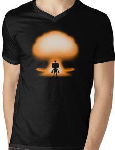 THE BOMBER Mens V-Neck T-Shirt