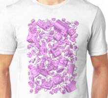Retro Gamer - Pink Unisex T-Shirt