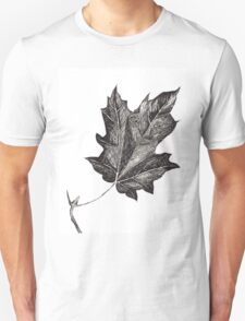 The Life Of A Leaf Poem Unisex T-Shirt